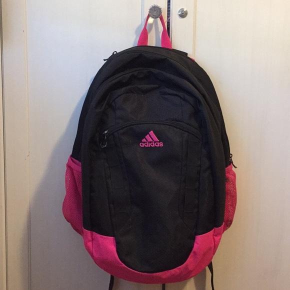 473cbd70e0f3 adidas Handbags - Womens black and pink adidas backpack